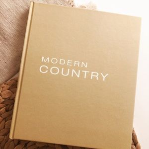 Modern Country Coffee Table Book